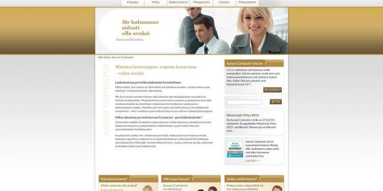 Aurum Contactor Oy Ltd